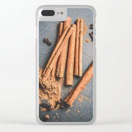 Cinnamon and anise art #food #stilllife Clear iPhone Case