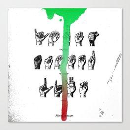 Young Thug Slime Language Album Canvas Print