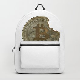 take a bite out of bitcoin Backpack