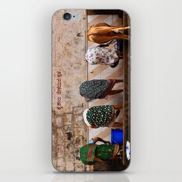 Indian Women and Cow iPhone Skin