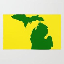 Michigan Football Rug