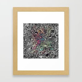 Abstract V1 Framed Art Print