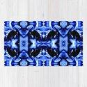 Blue Black  Fantasy Pattern by costa