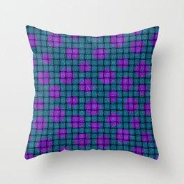BASKET WEAVE PATTERN 1 Throw Pillow
