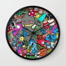 monster friends Wall Clock