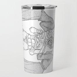The Defamation of Normal Rockwell II (NSFW) Travel Mug