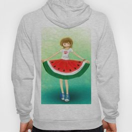 Watermelon Skirt Hoody