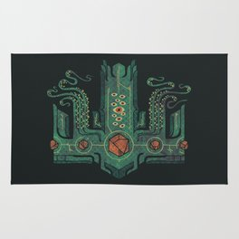 The Crown of Cthulhu Rug