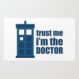 Trust me, I'm the Doctor Rug