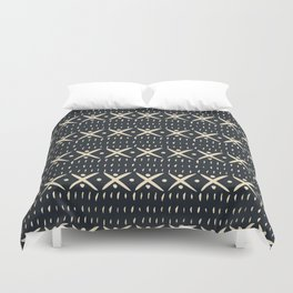 ADOBO MUDCLOTH DARK Duvet Cover
