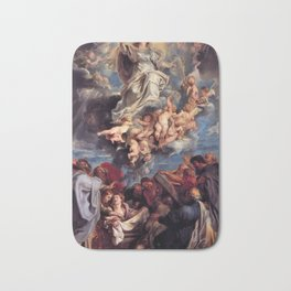 Pieter-Paul Rubens; Assumption of the Devine and Holy Virgin Mary Bath Mat