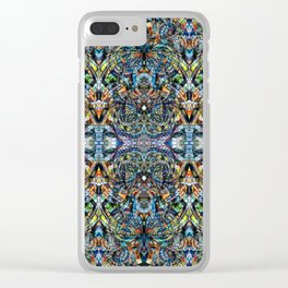 Ethnic Style G35 Clear iPhone Case