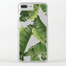 Banana Green Clear iPhone Case