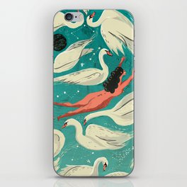 Flying or Drowning iPhone Skin