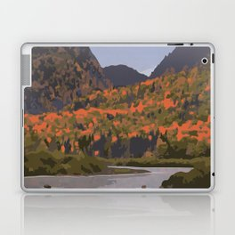 La Mauricie National Park Poster, Quebec Laptop & iPad Skin