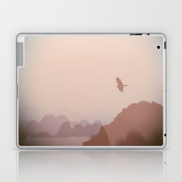 Flying High over Halong Bay Laptop & iPad Skin
