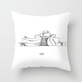 Bilbao Throw Pillow