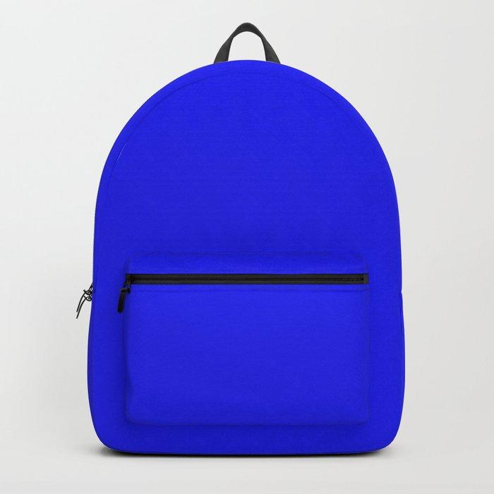 Bluebonnet - solid color Backpack