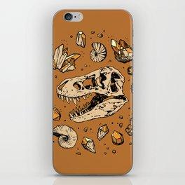 Geo-rex Vortex | Citrine Quartz iPhone Skin