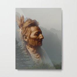 PioPio-Maksmaks - Walla Walla - American Indian Metal Print