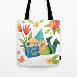 Book Gnome Tote Bag