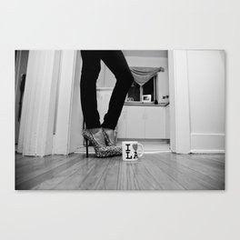 LA Lady Canvas Print