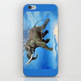 Rajan The Swimming Elephant iPhone Skin