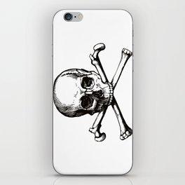 Skull and Crossbones | Jolly Roger iPhone Skin