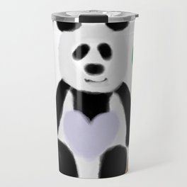 It's a Panda's World of Love Travel Mug