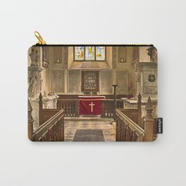 Knowlton Church Chancel Carry-All Pouch