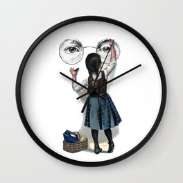Banksy Imagine Give Peace A Chance Wall Clock