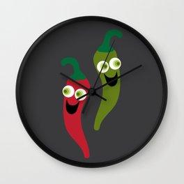 Hot Diggity! Wall Clock