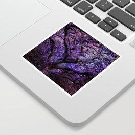 Mystic Tree of Knowledge Purple Sticker