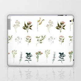 Delicate Floral Pieces Laptop & iPad Skin