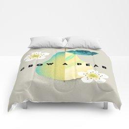 Grow a Pear Comforters