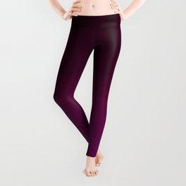 Hand painted pink burgundy watercolor gradient pattern Leggings