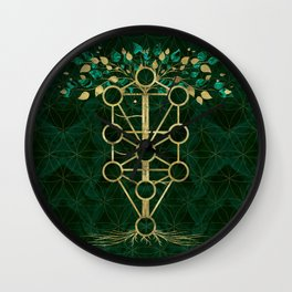 Kabbalah The Tree of Life - Etz Hayim Wall Clock