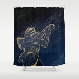 Star Wars Gold Edition Shower Curtain