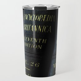 Encyclopedia Britannica 11th Edition Travel Mug