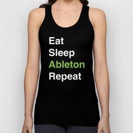 Eat Sleep Ableton Repeat Unisex Tank Top