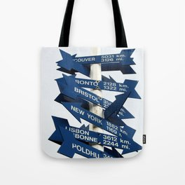 Directions Tote Bag