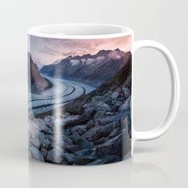 Sunrise On A Mountain Ridge Coffee Mug
