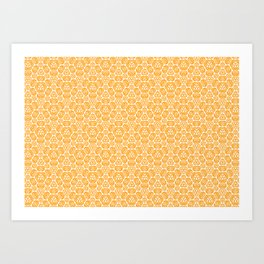 Circletto Hexpresso (18.0) Art Print