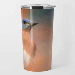 Summer Day Bluebird - Wildlife Travel Mug
