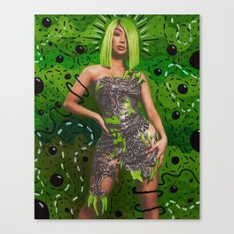 Slime szn Nikita Canvas Print