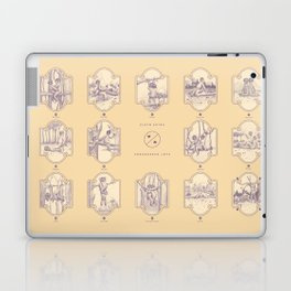 Endangered Love - Sloth Sutra Laptop & iPad Skin