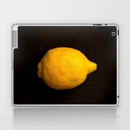 Yellow Lemon On A Black Background #decor #society6 Laptop & iPad Skin