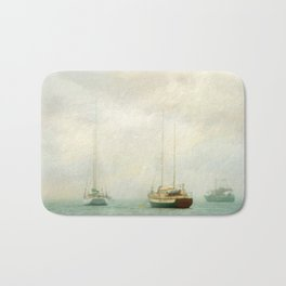 Morning Fog Bath Mat