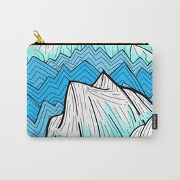 Antarctica mountains Carry-All Pouch