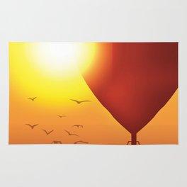 Fly Away on a Balloon Rug
